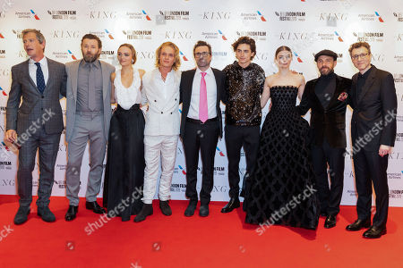 Ben Mendelsohn, Joel Edgerton, Lily-Rose Depp, Tom Glynn-Carney, David Michod, Timothee Chalamet, Thomasin McKenzie, Tom Lawrence and Nick Britell