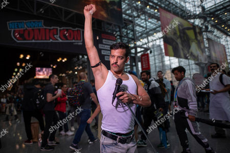 Editorial image of 2019 Comic Con - Day 1, New York, USA - 03 Oct 2019