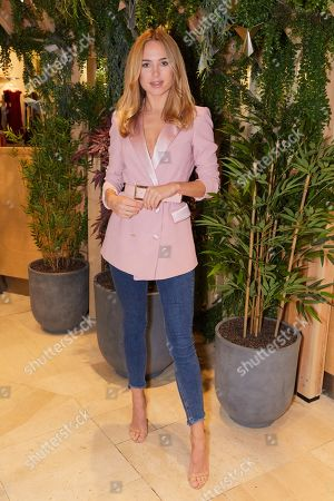 Kimberley Garner attends the opening of YO! Kitchen to celebrate the launch of YO!'s new dining concept and first full-service restaurant
