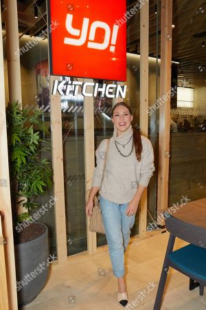 Louise Thompson attends the opening of YO! Kitchen to celebrate the launch of YO!'s new dining concept and first full-service restaurant.