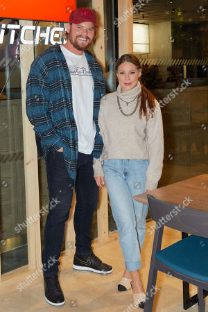 Ryan Libbey and Louise Thompson attend the opening of YO! Kitchen to celebrate the launch of YO!'s new dining concept and first full-service restaurant.