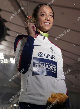 Editorial photo of Athletics Worlds, Doha, Qatar - 04 Oct 2019
