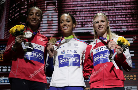 Editorial image of Athletics Worlds, Doha, Qatar - 04 Oct 2019