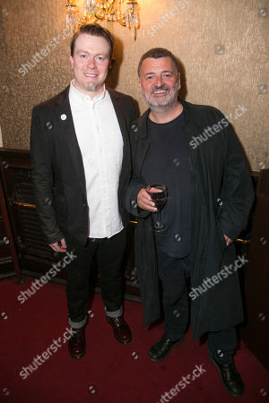 Daniel Rigby (Garry Lejeune) and Steven Moffat