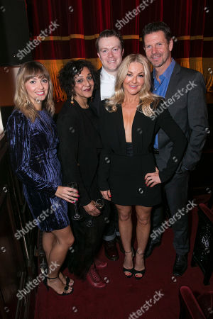 Lisa McGrillis (Brooke Ashton), Meera Syal (Dotty Otley), Daniel Rigby (Garry Lejeune), Sarah Hadland (Belinda Blair) and Lloyd Owen (Lloyd Dallas)