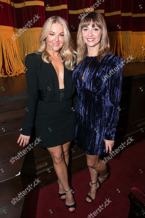 Sarah Hadland (Belinda Blair) and Lisa McGrillis (Brooke Ashton)