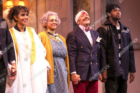 Editorial photo of 'Noises Off' play, Garrick Theatre, London, UK - 03 Oct 2019