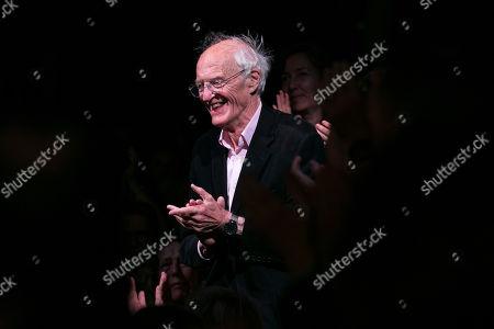 Editorial photo of 'Noises Off' play, Garrick Theatre, London, UK - 03 Oct 2019