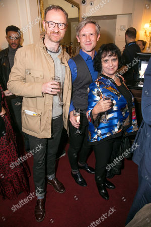 Mark Gatiss, Ian Hallard and Nica Burns (Producer)