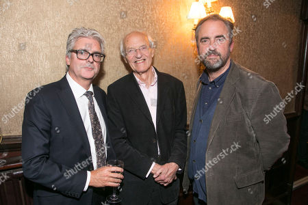 Matthew Byam Shaw (Producer), Michael Frayn (Author) and Jeremy Herrin (Director)