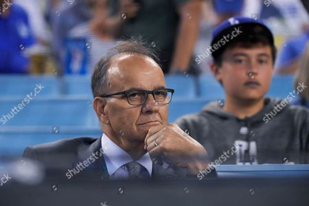 Editorial image of NLDS Nationals Dodgers Baseball, Los Angeles, USA - 03 Oct 2019
