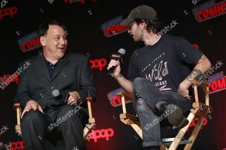 Stock Picture of Sam Raimi (Producer) and Nicholas Pesce (Director)