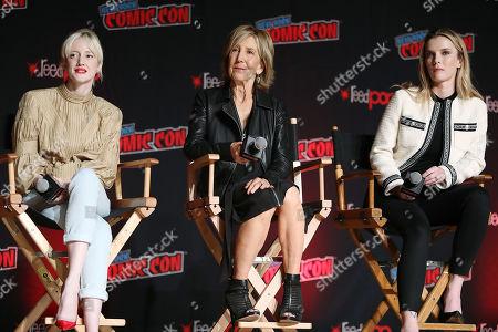 Andrea Riseborough, Lin Shaye and Betty Gilpin