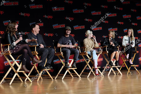 Sam Raimi (Producer), Nicholas Pesce (Director), Andrea Riseborough, Lin Shaye and Betty Gilpin