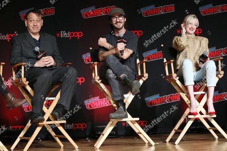 Sam Raimi (Producer), Nicholas Pesce (Director) and Andrea Riseborough