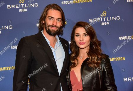 Camille Lacourt and guest