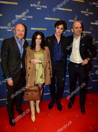 Editorial image of Breitling Boutique Opening, Paris, France - 03 Oct 2019