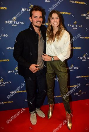 Laury Thilleman and guest