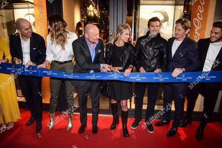 Editorial photo of Breitling Boutique Opening, Paris, France - 03 Oct 2019