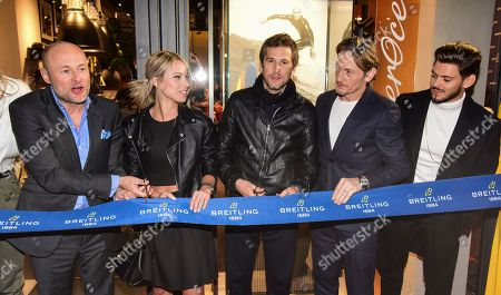 Editorial picture of Breitling Boutique Opening, Paris, France - 03 Oct 2019