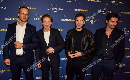 Benoit Magimel, Guillaume Canet and guests