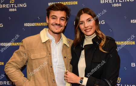 Camille Cerf and guest