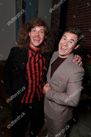 Stock Photo of Blake Anderson, Adam Devine