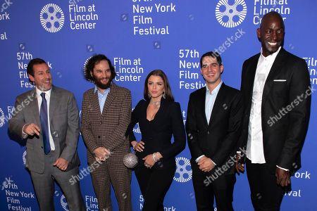 "Editorial photo of 2019 NYFF - ""Uncut Gems"" Premiere, New York, USA - 03 Oct 2019"