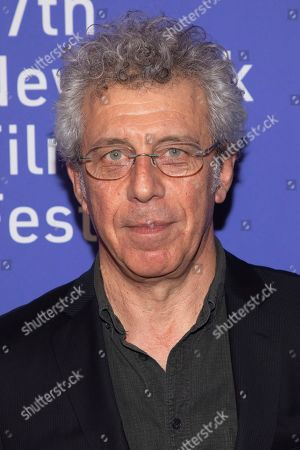 "Eric Bogosian attends the ""Uncut Gems"" premiere during the 57th New York Film Festival at Alice Tully Hall, in New York"