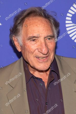 """Stock Photo of Judd Hirsch attends the """"Uncut Gems"""" premiere during the 57th New York Film Festival at Alice Tully Hall, in New York"""