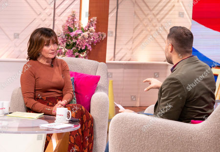 Stock Photo of Lorraine Kelly and Dan Wooton