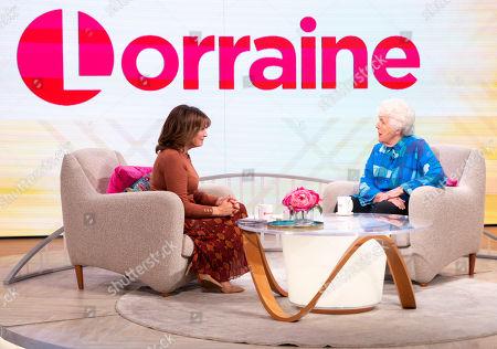 Lorraine Kelly and Stephanie Cole