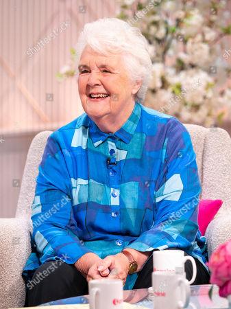 Editorial image of 'Lorraine' TV show, London, UK - 04 Oct 2019