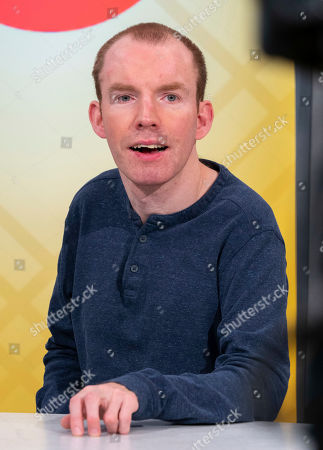 Stock Picture of Lost Voice Guy