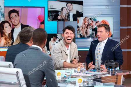 Editorial picture of 'Good Morning Britain' TV show, London, UK - 04 Oct 2019