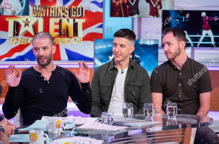 Darcy Oake with Twist and Pulse - Ashley Glazebrook and Glen Murphy