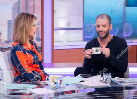 Kate Garraway and Darcy Oake