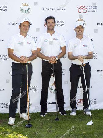 Llia Melia, Mark Webber and Patrick Leygonie