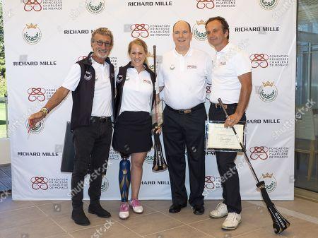Eddie Jordan, Caroline Mohr, Prince Albert II of Monaco and guest
