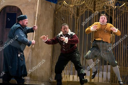 Editorial photo of 'The Seraglio' Opera performed by English Touring Opera at the Hackney Empire Theatre, London, UK - 01 Oct 2019