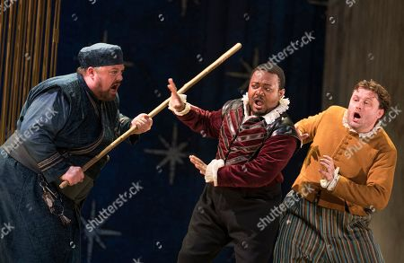 Editorial image of 'The Seraglio' Opera performed by English Touring Opera at the Hackney Empire Theatre, London, UK - 01 Oct 2019