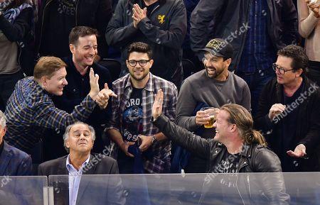 Joseph Sikora, Joe Perrino, Jerry Ferrara, guests and Michael J Fox