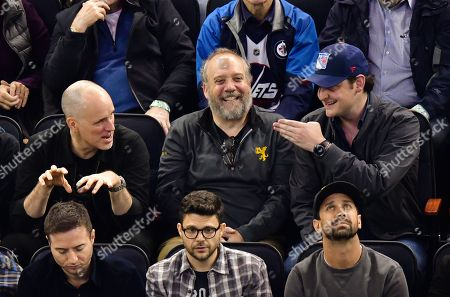 Editorial image of Celebrities at New York Rangers v Winnipeg Jets NHL ice hockey match, Madison Square Garden, New York, USA - 03 Oct 2019