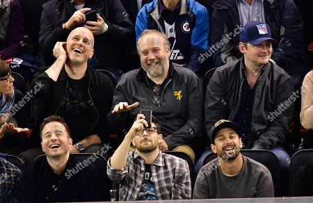 Editorial photo of Celebrities attend a New York Rangers v Winnipeg Jets ice hockey game, New York, USA - 03 Oct 2019