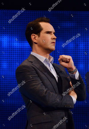 Jimmy Carr facing The Chaser