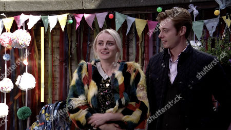 Ep 9895 Wednesday 9th October 2019 - 1st Ep At Bertie's party in The Rovers' back yard Sinead Tinker, as played by Katie McGlynn, fights back tears as she breaks the news to family and friends that she only has weeks to live. With Daniel Osbourne, as played by Rob Mallard.