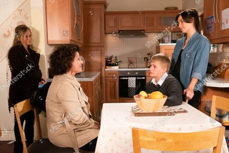 Ep 9902 Monday 21st October 2019 - 2nd Ep Max Turner, as played by Harry McDermott, tells a relieved Shona Ramsey, as played by Julia Goulding, he's sorry for his behaviour and he wants to be part of the family again. Max explains to Shona that he wants to return home to which Marion Logan, as played by Kerry Peers, reluctantly agrees.