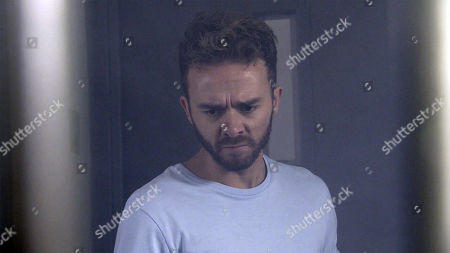 Ep 9902 Monday 21st October 2019 - 2nd Ep David Platt, as played by Jack P Shepherd, tells Abe that he wants to deal with Josh Tucker, as played by Ryan Clayton, alone.