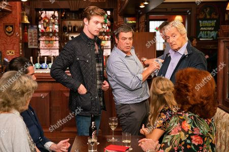 Ep 9894 Monday 7th October 2019 -2nd Ep laudia Colby, as played by Rula Lenska, is understanding to why Ken Barlow, as played by William Roache, can't come away so Audrey Roberts, as played by Sue Nicholls, suggests celebrating Ken's birthday here rather than Italy. Claudia mentions her plans for a party although Ken feels this may be inappropriate given Sinead's situation but Daniel Osbourne, as played by Rob Mallard, disagrees.