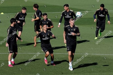Editorial image of Real Madrid's training session, Spain - 04 Oct 2019